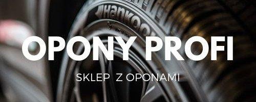Opony Profi - sklep z oponami